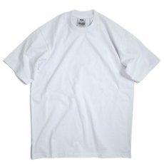 画像1: PRO CLUB Heavyweight Cotton Short Sleeve Crew Neck T-shirt White / プロクラブ ヘビーウェイト コットン ショート スリーブ  クルーネック Tシャツ ホワイト (1)
