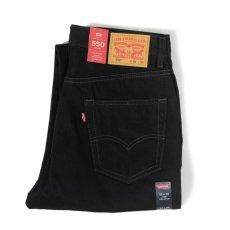 画像3: Levi's® 550-0260 Relaxed Tapered Leg Jeans Black / リーバイス 550-0260 リラックスフィット テーパード デニム ブラック (3)