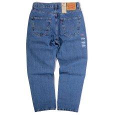画像2: Levi's® 550-4891 Relaxed Tapered Leg Jeans Mediumstone Wash / リーバイス 550-4891 リラックスフィット テーパード デニム ミディアムストーン ウォッシュ (2)