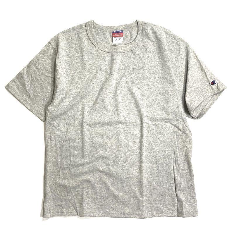 画像1: Champion 7oz. Heritage Jersey T-shirts Heather Grey / チャンピオン 7オンス ヘビーウェイト ヘリテージ Tシャツ ヘザー グレー (1)