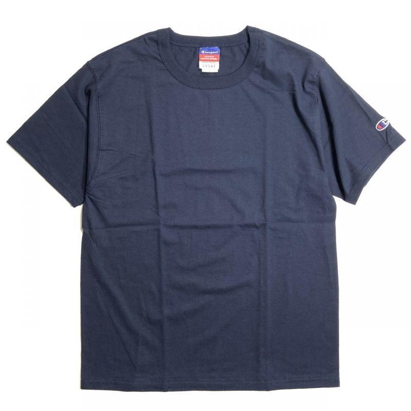 画像1: Champion 7oz. Heritage Jersey T-shirts Navy / チャンピオン 7オンス ヘビーウェイト ヘリテージ Tシャツ ネイビー (1)