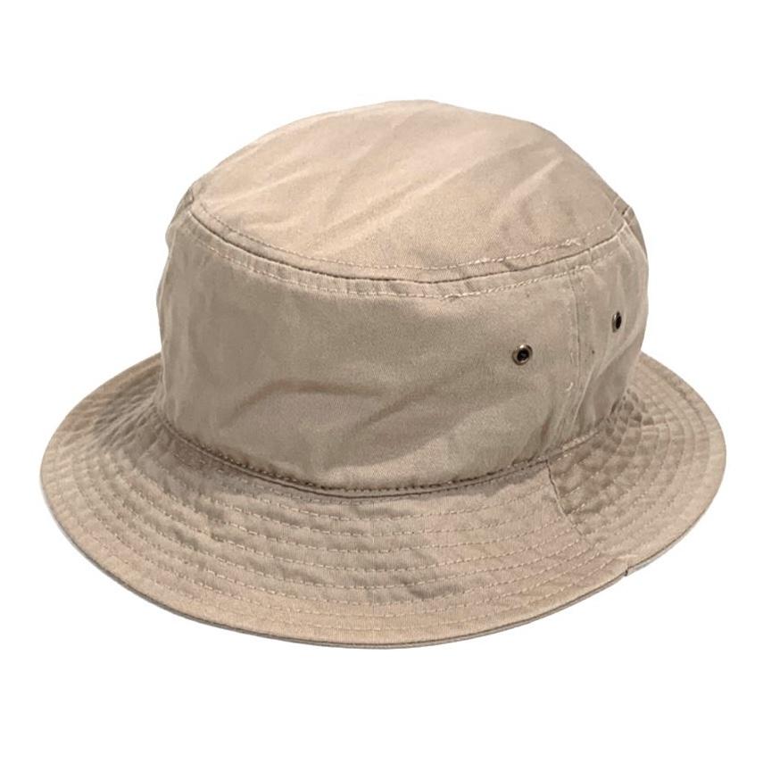 画像1: KBETHOS  Solid Bucket Hat Ivory / ケービーエトス ソリッド バケット ハット アイボリー (1)