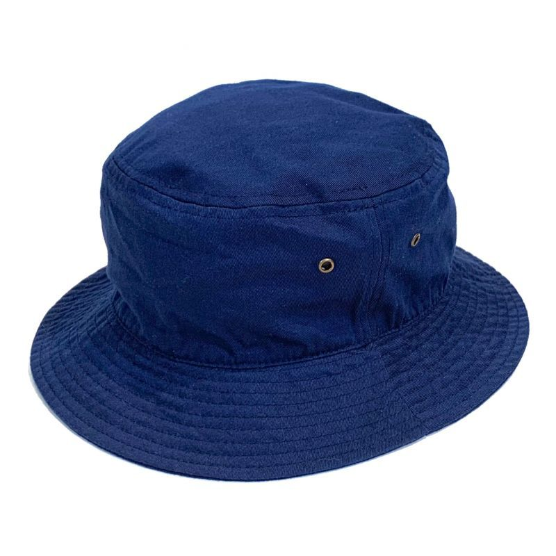 画像1: KBETHOS  Solid Bucket Hat Navy / ケービーエトス ソリッド バケット ハット ネイビー (1)