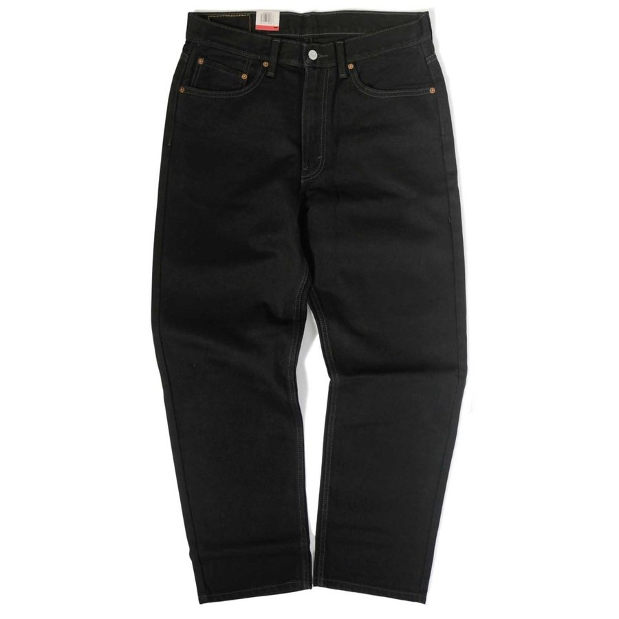 画像1: Levi's® 550-0260 Relaxed Tapered Leg Jeans Black / リーバイス 550-0260 リラックスフィット テーパード デニム ブラック (1)