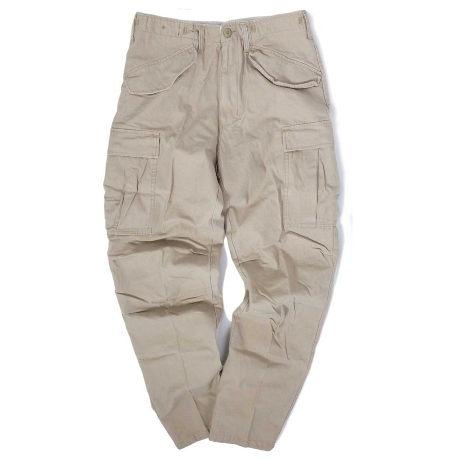 画像1: Rothco Vintage M-65 Cotton Field Cargo Pants Khaki / ロスコ M-65 コットン フィールド カーゴパンツ カーキ (1)