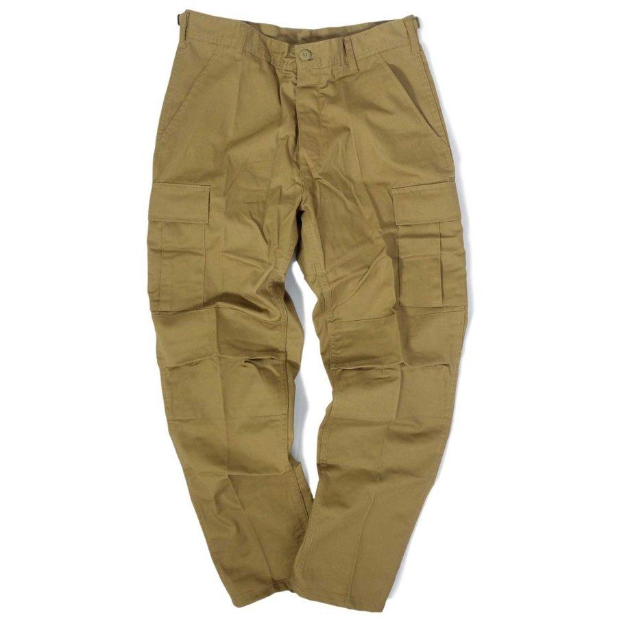 画像1: Rothco BDU Cargo Pants Coyote / ロスコ タクティカル BDU カーゴパンツ コヨーテ (1)