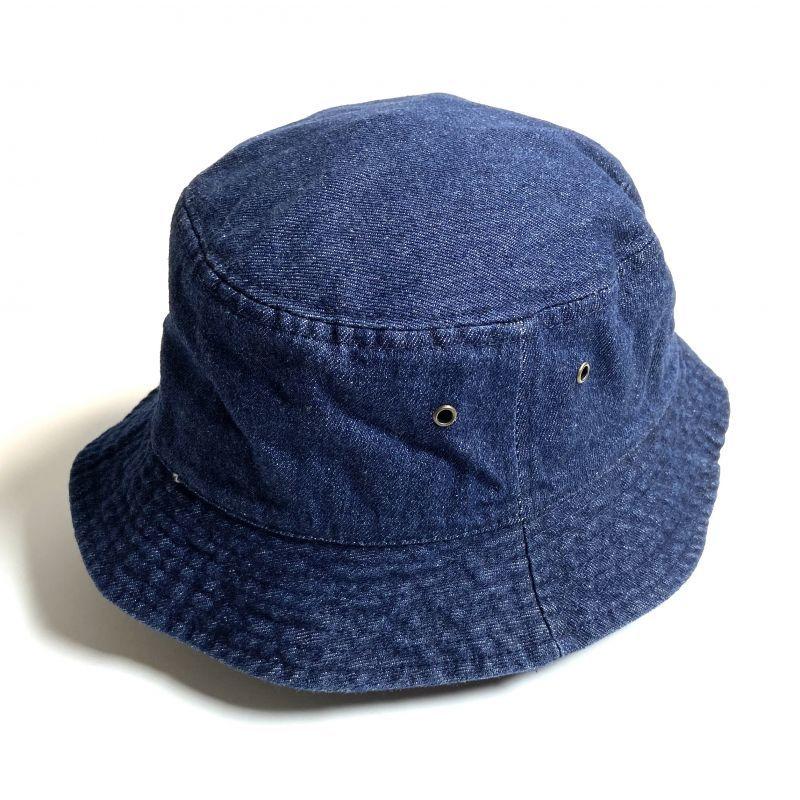 画像1: KBETHOS  Solid Bucket Hat Dark Denim / ケービーエトス ソリッド バケット ハット ダーク デニム (1)