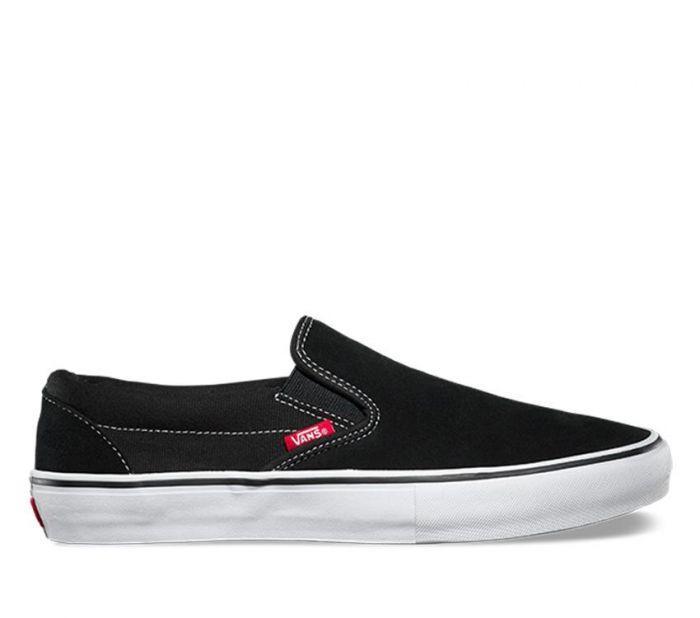画像1: Vans Slip On Pro Black x White / ヴァンズ スリッポン プロ ブラック x ホワイト (1)