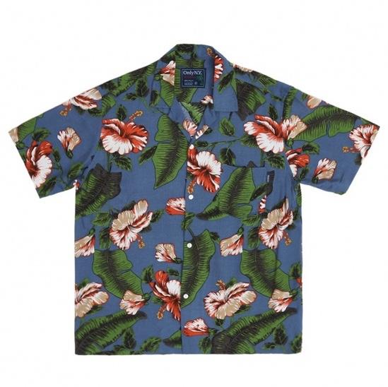 画像1: ONLY NY Hibiscus Aloha S/S Shirts Multi / オンリーニューヨーク ハイビスカス アロハ ショートスリーブ シャツ (1)