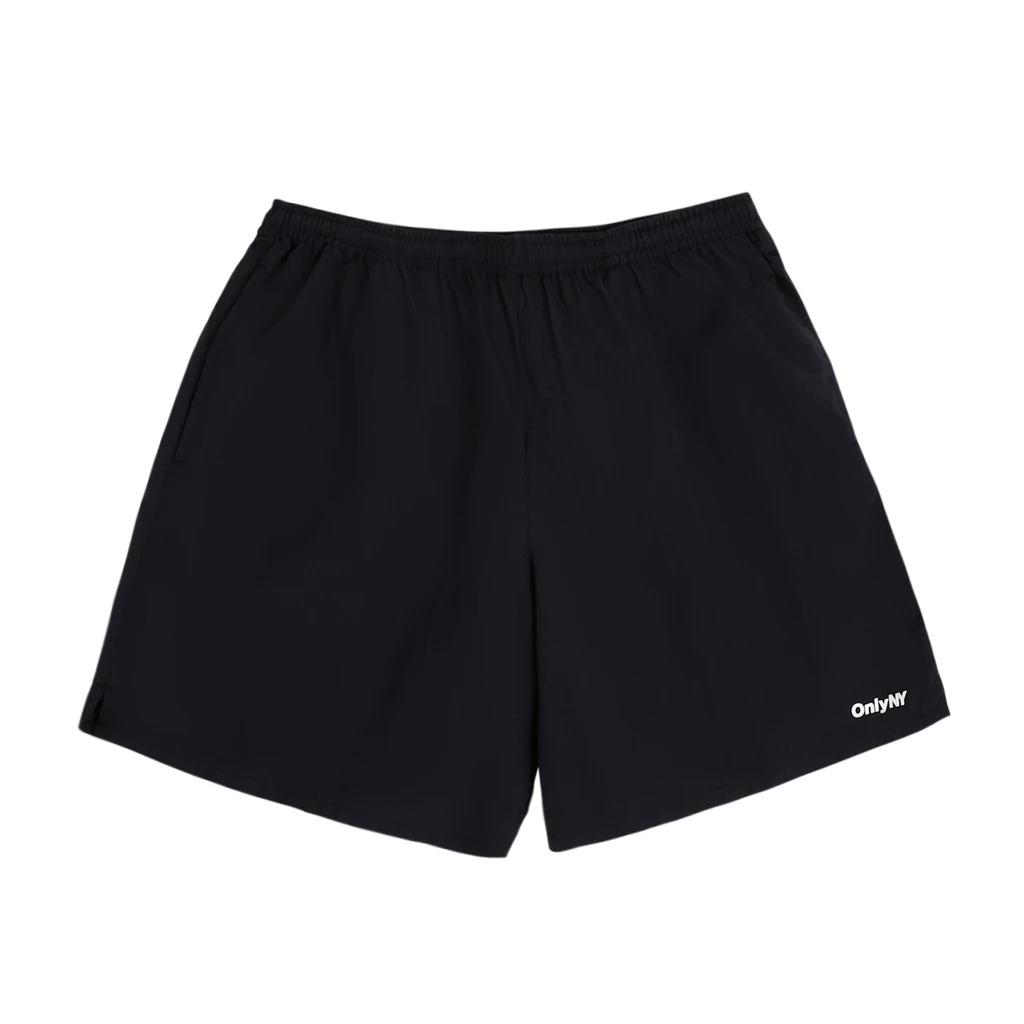 画像1: ONLY NY Track Shorts Black / オンリーニューヨーク ナイロン トラックショーツ ブラック (1)
