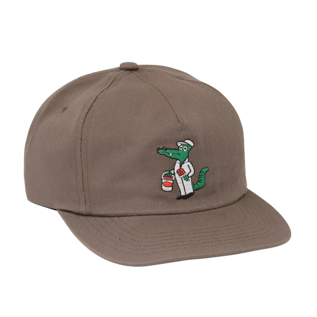 画像1: ONLY NY Gator The Painter Cap Smoky Brown / オンリーニューヨーク 6パネル キャップ スモーキーブラウン (1)
