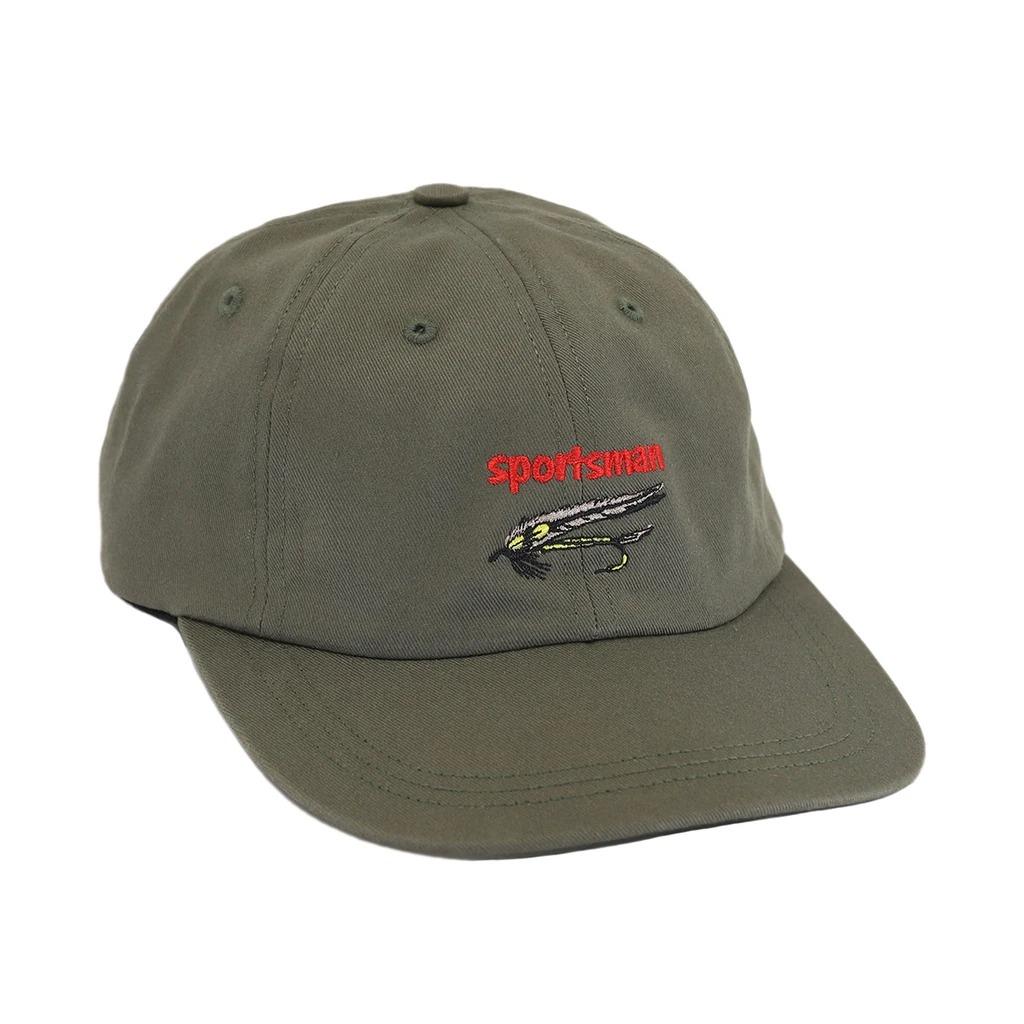 画像1: ONLY NY Sportsman Streamer Polo Cap Olive Drab / オンリーニューヨーク 6パネル キャップ オリーブ (1)