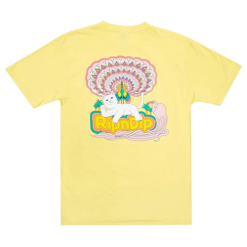 画像1: RIPNDIP Tropic Paradise Short Sleeve T-Shirts Banana / リップンディップ ショートスリーブ Tシャツ イエロー (1)