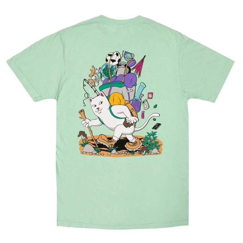画像1: RIPNDIP Hiker Nerm Short Sleeve T-Shirts Mint / リップンディップ ショートスリーブ Tシャツ ミント (1)