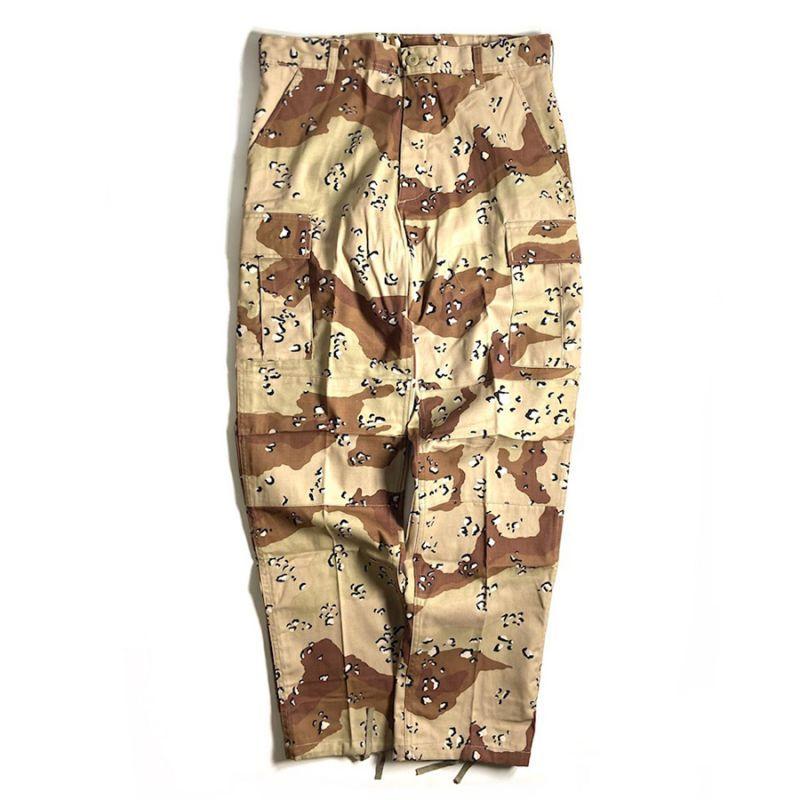 画像1: Rothco BDU Pants Chocochip Camo / ロスコ BDU パンツ チョコチップ カモ (1)