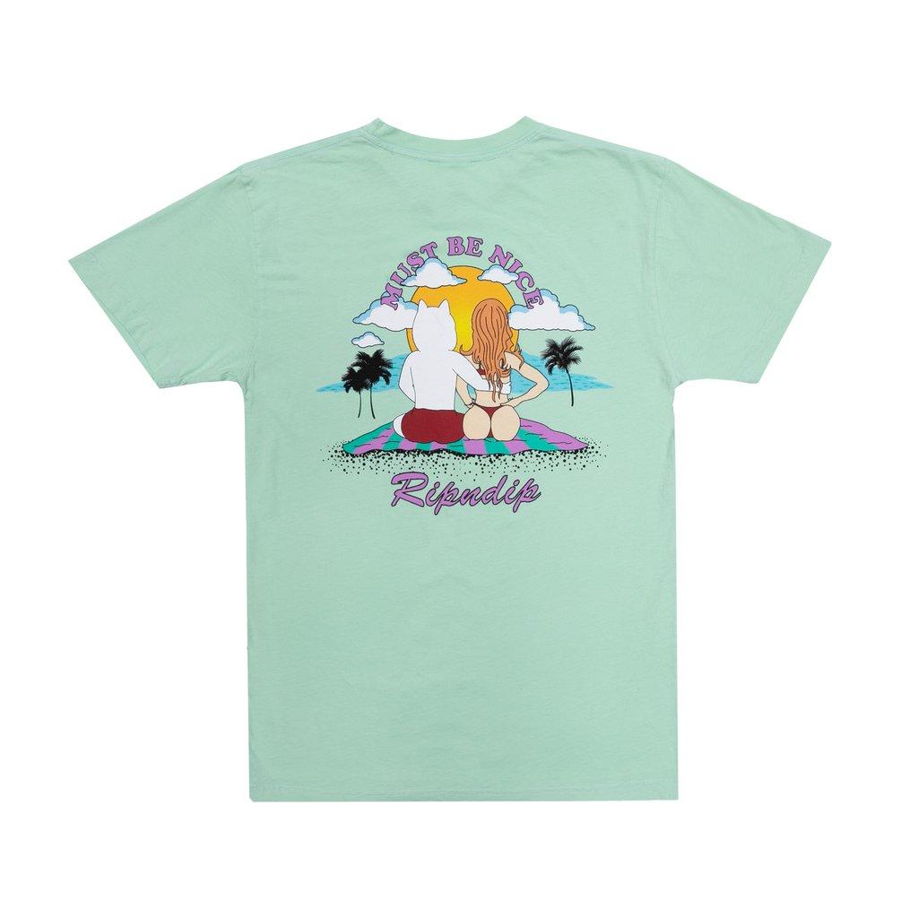 画像1: RIPNDIP Suns Of Buns Short Sleeve T-Shirts Mint / リップンディップ ショートスリーブ Tシャツ ミント (1)