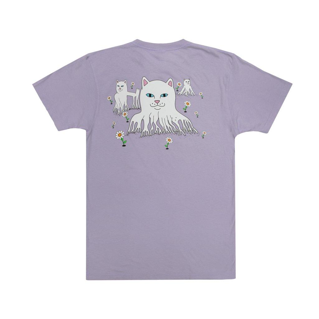 画像1: RIPNDIP Roots Short Sleeve T-Shirts Lavender / リップンディップ ショートスリーブ Tシャツ ラベンダー (1)
