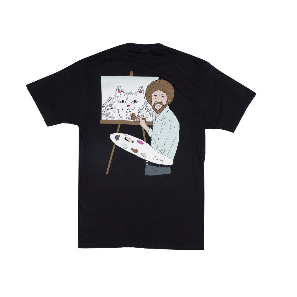 画像1: RIPNDIP Beautiful Mountain T-Shirts Black / リップンディップ ショートスリーブ Tシャツ ブラック (1)