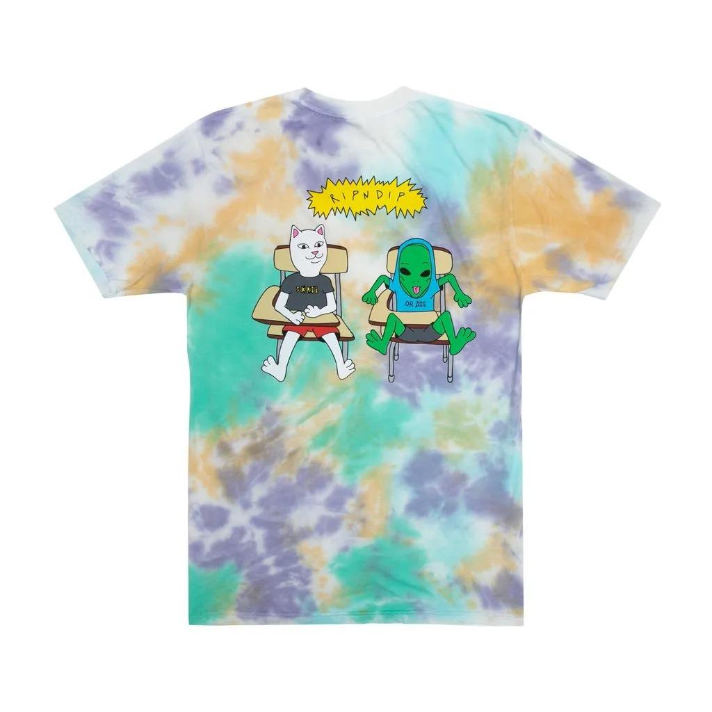 画像1: RIPNDIP Butz Up Short Sleeve T-Shirts Multi Cloud Wash / リップンディップ ショートスリーブ Tシャツ クラウドウォッシュ (1)
