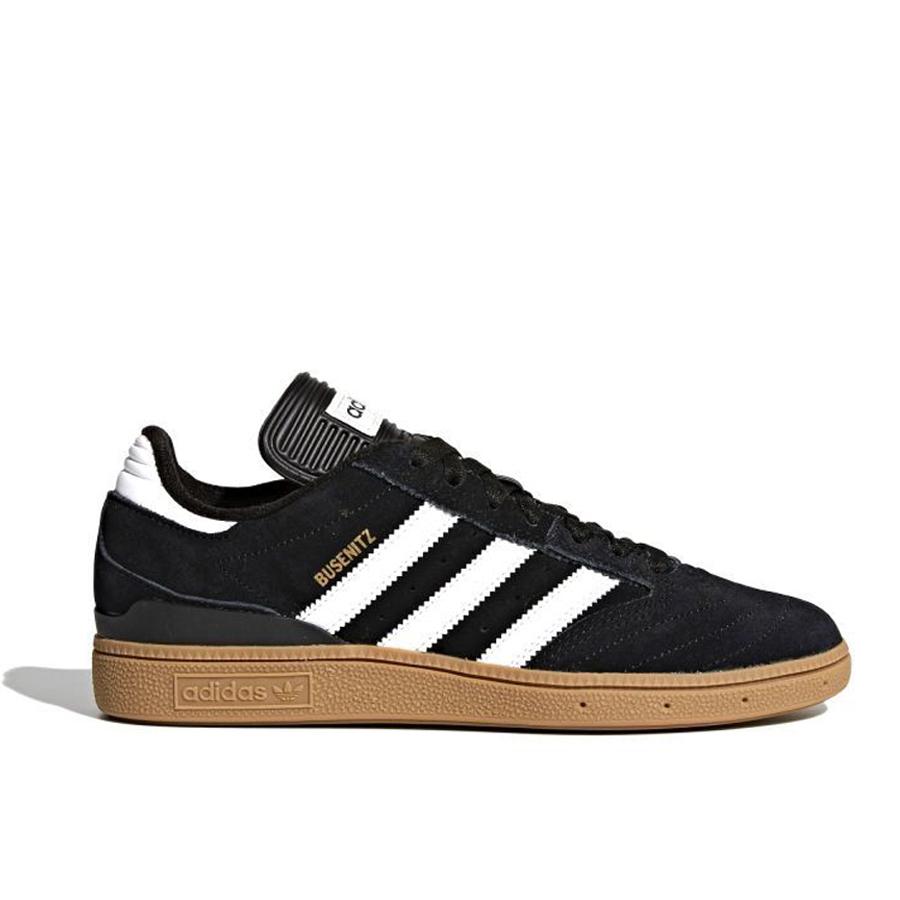 画像1: adidas Skateboarding Busenitz Pro Shoes Core Black x Cloud White x Gold Metallic / アディダス スケートボーディング ブゼニッツ プロ ブラック x クラウドホワイト x ゴールドメタリック (1)
