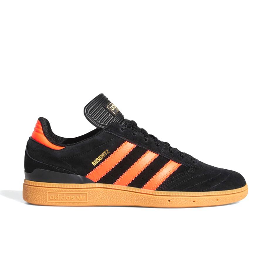 画像1: adidas Skateboarding Busenitz Shoes Core Black x Solar Red x Gum / アディダス スケートボーディング ブゼニッツ ブラック x ソーラーレッド x ガムソール (1)
