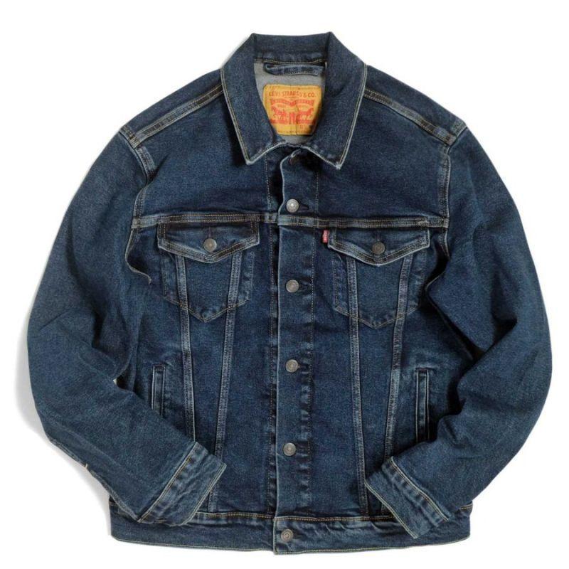 画像1: Levi's® Trucker Denim Jacket Dark Wash / リーバイス デニム トラッカージャケット (1)