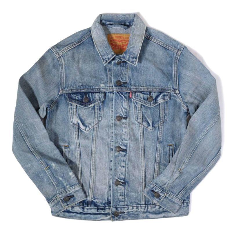 画像1: Levi's® Trucker Denim Jacket Queen Wash / リーバイス デニム トラッカージャケット (1)