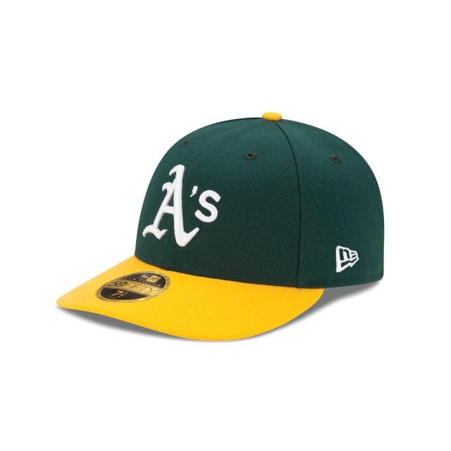 画像1: New Era LP 59Fifty Oakland Athletics / ニューエラ 5950 ロープロファイル キャップ オークランド・アスレチックス (1)