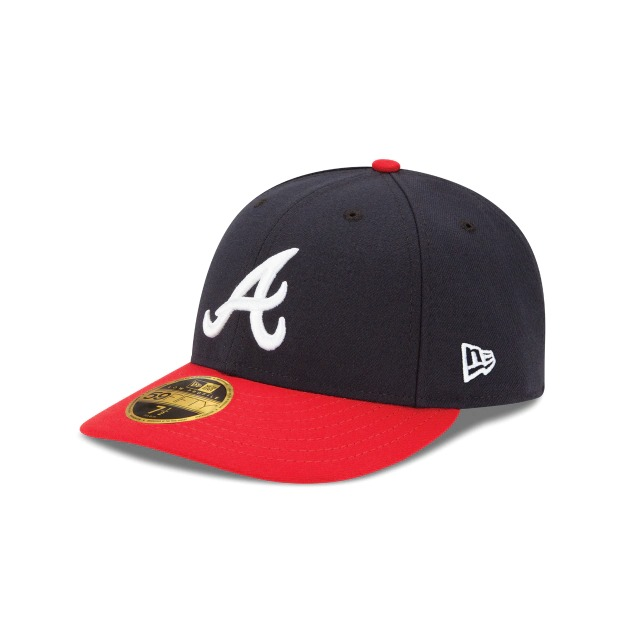 画像1: New Era LP 59Fifty Atlanta Braves / ニューエラ 5950 ロープロファイル キャップ アトランタ・ブレーブス (1)