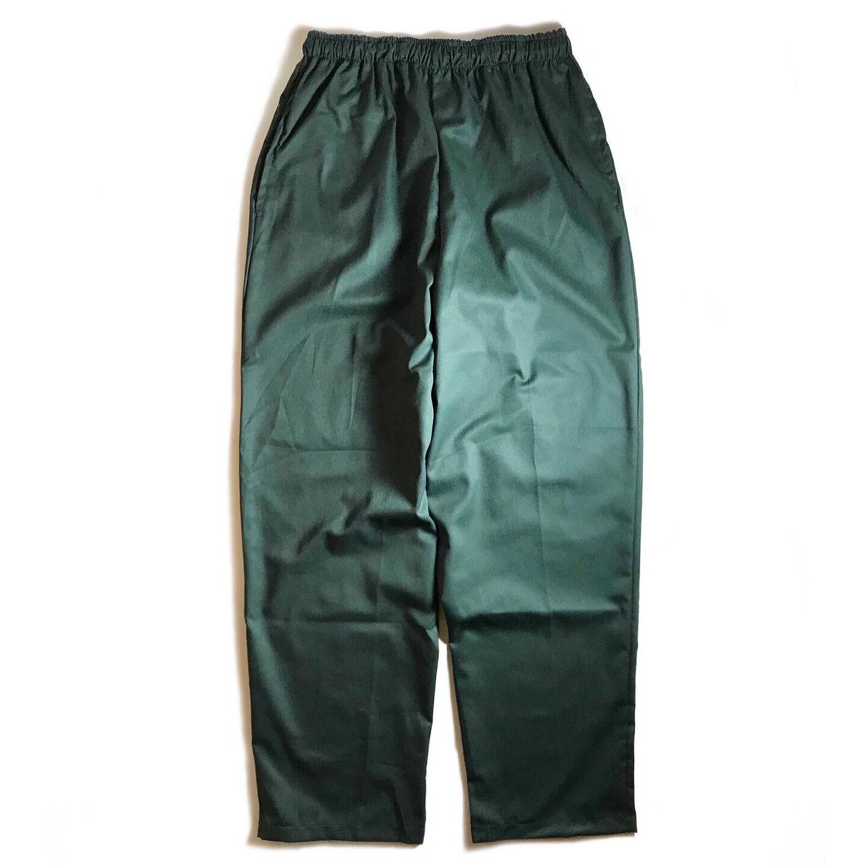 画像1: Clarks Sportswear Twill Easy Pants Green / クラークススポーツウェア エリックハンター ツイル イージーパンツ グリーン (1)
