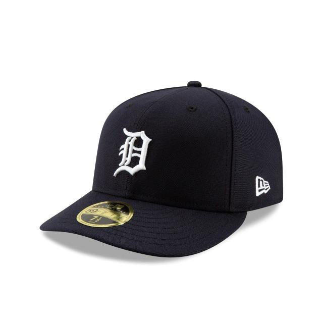画像1: New Era LP 59Fifty Detroit Tigers / ニューエラ 5950 ロープロファイル キャップ デトロイト・タイガース (1)