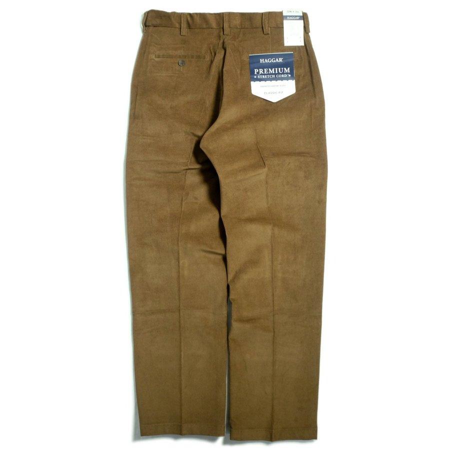 画像1: Haggar Comfort Waist Premium Stretch Corduroy Pants Camel / ハガー コンフォートウエスト ストレッチ コーデュロイ パンツ キャメル (1)