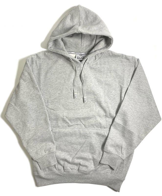 画像1: PRO CLUB Heavyweight Pullover Hooded Sweatshirt Grey / プロクラブ へビーウェイト プルオーバー フーディ スウェットシャツ グレー (1)