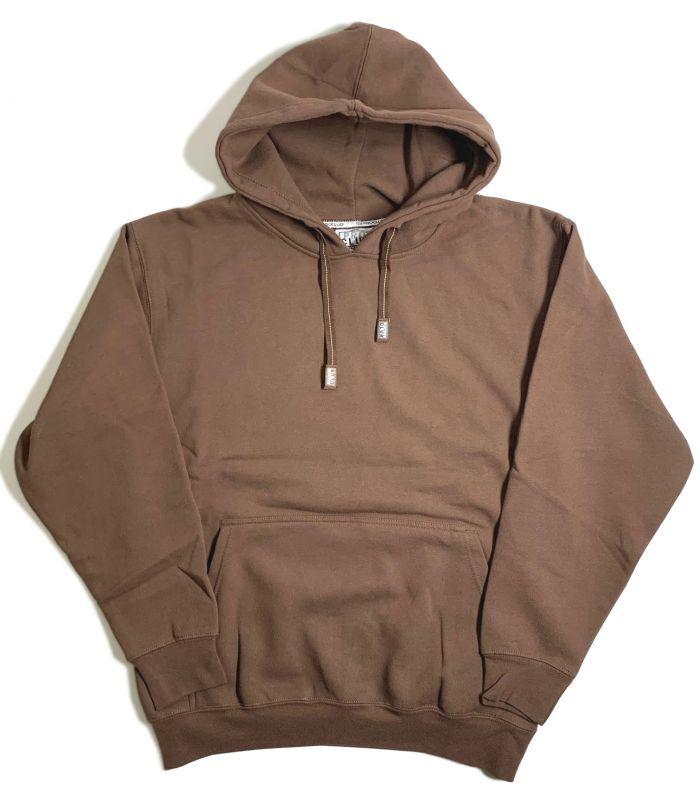 画像1: PRO CLUB Heavyweight Pullover Hooded Sweatshirt Brown / プロクラブ へビーウェイト プルオーバー フーディ スウェットシャツ ブラウン (1)